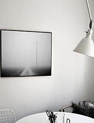 baratos -Abstracto Pinturas a Óleo Emolduradas Arte de Parede,Poliestireno Material com frame For Decoração para casa Arte EmolduradaSala de Estar