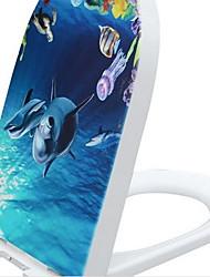 Thicker Soft Close U Toilet Seat   Fits Most Toilets