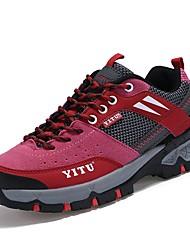 Feminino Sapatos Couro Ecológico Todas as Estações Conforto Solados com Luzes Tênis Aventura Para Atlético Roxo Rosa claro Khaki