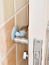 economico -sicurezza di appendere la porta anti-collisione in materiale siliconico (colore casuale)