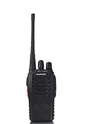 abordables -Portable Avertissement Batterie Faible / Fonction de Conservation d'Energie / VOX 3 - 5 km 3 - 5 km 16 Talkie walkie Radio bidirectionnelle