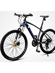 Mountain Bike Cycling 30 Speed 26 Inch/700CC MICROSHIFT 24 Disc Brake Suspension Fork Aluminium Alloy Frame Ordinary/Standard Anti-slip