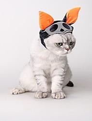 Недорогие -Кошка Собака Костюмы Аксессуары для создания прически Одежда для собак Косплей Хэллоуин Однотонный Костюм Для домашних животных