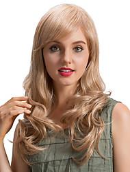 Perruques de cheveux humains romantiques fraîches et longues