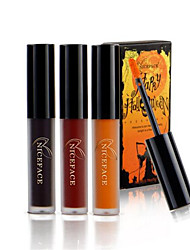 cheap -3 Colors/Set Gothic Color  Waterproof Lipstick Matte Lips For Halloween Makeup Kit