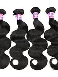 4 Bundles Body Wave Hair 400g Brazilian Virgin Hairs Human Hairs 100% Human Hairs Texture Wavy Body Wave hair weaves