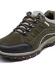 Da uomo scarpe da ginnastica Comoda Felpato Primavera Autunno Lacci Piatto Nero Grigio Verde militare Meno di 2,5 cm