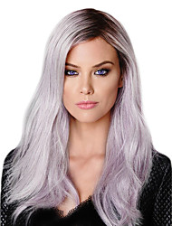cheap -Synthetic Lace Front Wig Natural Hairline Lace Front Natural Wigs Long Synthetic Hair