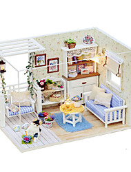 DIY KIT Toys DIY Famous buildings House Architecture Wood Pieces Female Birthday Gift