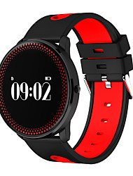 cheap -Smart Bracelet Touch Screen Heart Rate Monitor Water Resistant / Water Proof Pedometers Distance Tracking Hands-Free Calls Message