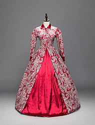 Steampunk®Top Sale Marie Antoinette Renaissance Brocade Dress Ball Gown Reenactment Prom Dresses