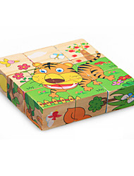 3D Puzzles Educational Toy Jigsaw Puzzle Toys Tiger Friut Animals Not Specified Children's Pieces