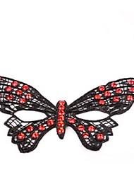 Недорогие -Маски на Хэллоуин Кружевная маска Игрушки Для вечеринок Новинки Кружева Ужасы Куски Жен. Хэллоуин Подарок