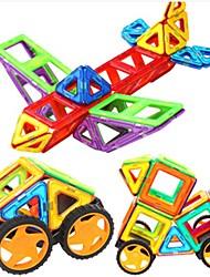 Blocos de Construir Blocos magnéticos Conjuntos de construção magnética Carros de brinquedo Brinquedos Aeronave Peças Crianças Rapazes Dom
