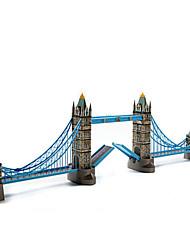 abordables -Puzzles 3D Puzzle Bâtiment Célèbre Architecture 3D Bois Naturel Enfant Unisexe Cadeau