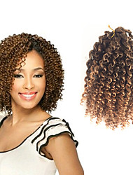 10-12inch short Jerry Curl Curly Braids Hair Extensions 100% Kanekalon Hair Hair Braids