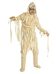 Scheletro/Teschio Costumi da zombie Cosplay Un Pezzo/Vestiti Halloween Carnevale Giorno della morte Feste/vacanze Costumi Halloween Bianco