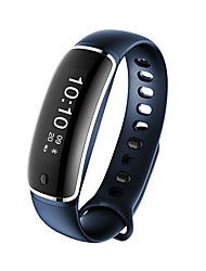 HHY New M4 Smart Wristband Blood Pressure Heart Rate Meter Step Sleep Sedentary Reminder IP67 Class Waterproof Bluetooth Bracelet Android Ios