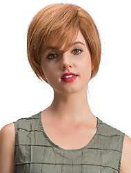 Small Fresh Beautiful Short  Human Hair Wigs For Women