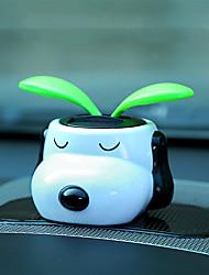 Diy ornements automobiles fleur solaire a secoué sa tête pendentif voiture voiture&Ornements résine abs