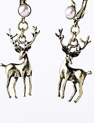 Per donna Orecchini a goccia imitazione diamante Di tendenza Personalizzato Classico Lega Forma di animali Gioielli PerFeste Cerimonia