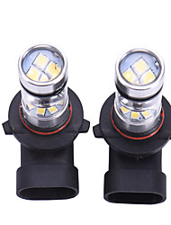 2PCS 9005 HB3 9145 H10 100W LED Fog Lamp