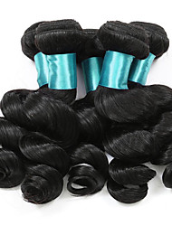 Loose Wave Hairs Extension 5 Bundles Human Hairs 500 Gram Brazilian Virgin Hairs  Real Women Hair Weft Hair Extensions