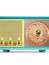 Недорогие -MAO KING R303 FM Bluetooth Мировой ресивер Зеленый / Синий