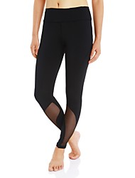 Women's Running Tights Gym Leggings Quick Dry Wearable Bottoms for Hiking Exercise & Fitness Camping Running Polyester Slim S M L XL