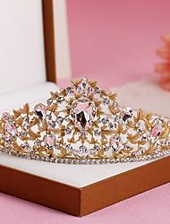 cheap -Rhinestone Alloy Tiaras Headbands 1 Wedding Special Occasion Birthday Party / Evening Headpiece