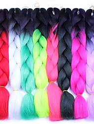 cheap -Box Braids Jumbo Hair Extensions 100% Kanekalon Hair Hair Braids