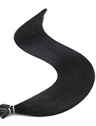cheap -Fusion /I Tip Human Hair Extensions Straight 25 Strands/Pack 24 inch
