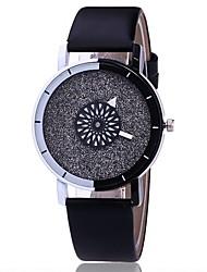 cheap -Women's Dress Watch Fashion Watch Wrist watch Unique Creative Watch Casual Watch Chinese Quartz PU Band Charm Casual Elegant Black White