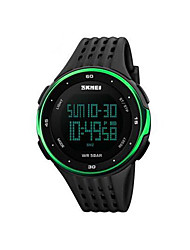 cheap -Men's Sport Watch Smartwatch Wrist Watch Digital 30 m Water Resistant / Water Proof Calendar / date / day Chronograph PU Band Digital Charm Fashion Elegant Multi-Colored - Yellow Green Blue / LCD
