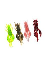 """economico -6 pc Esche morbide Gamberi / Gamberetto g/Oncia,65 mm/2-5/8"""" pollice Pesca a mulinello Spinning Pesca a jigging Pesca di acqua dolce"""