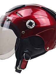 Half Helmet Fastness Durable High Quality ABS Motorcycle Helmets