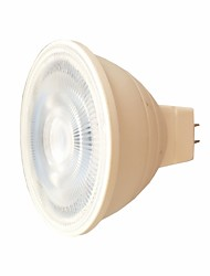 cheap -7W MR16 LED Spotlight 6 leds SMD 3030 Warm White White 580lm 2800-6500K AC 220V