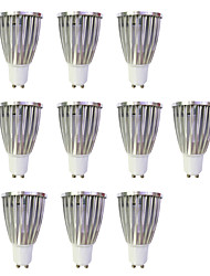 cheap -6W GU10 LED Spotlight MR16 1 leds COB Warm White White 480lm 3000-3500/6000-6500K AC 220-240V