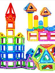 Blocos de Construir Blocos magnéticos Conjuntos de construção magnética Carros de brinquedo Brinquedos Casa Peças Crianças Rapazes Dom
