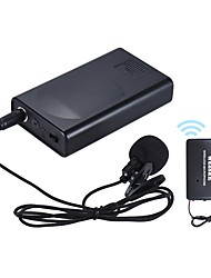 Portable Lavalier Lapel Collar Clip-on Wireless Microphone Voice Amplifier for Lecture Conference Speech Promotion