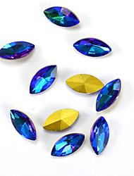 abordables -1 Nouveaux Bijoux Décoration artistique/Rétro Bijoux à ongles Produits DIY 3D Glitters Cristal Artistique Luxe Géométrique Accessoires