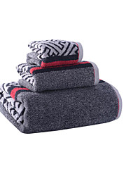 Fresh Style Bath Towel Set,Stripe Superior Quality 100% Cotton Towel