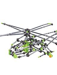 economico -Modello di visualizzazione Costruzioni Gioco educativo Giocattoli Prodotti per pesci Elicottero Fai da te Bambini Per bambini Pezzi