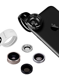 MOMAX X-Lens Mobile Phone Lens 120  Wide Angle 15X Macro 180  Fish Eyes 2.5X Telephoto CPL Polarized External Lens