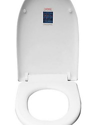 Toilet Seat Fits Most ToiletsThickerSoft Close UQuick installation Stainless steel disc mounting