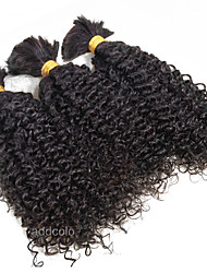 1 Bundle Curly Hair Bulk 8A Brazilian Virgin Human Hair Kinky Curly Bulk Hair 100g/Bundle