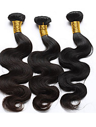 cheap -Brazilian Hair Body Wave Human Hair Weaves 3 Pieces 0.15