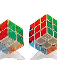 abordables -Rubik's Cube z-cube 3*3*3 2*2*2 Cube de Vitesse  Cubes Magiques Anti-Stress Casse-tête Cube Mode d'Emploi Inclus Cadeau Unisexe