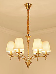 cheap -Pendant Light Ambient Light - Bulb Included, Chic & Modern, 110-120V 220-240V Bulb Included