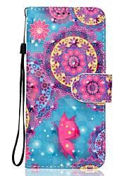 Per la penna del telefono delle cellule di Samsung a5 (2017) a3 (2017) del silicone materiale del cuoio della farfalla modello 3d pittura